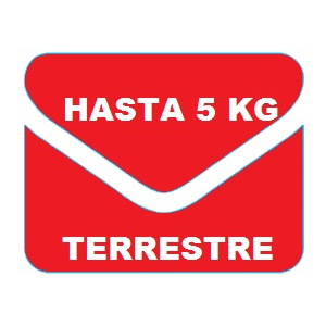 GUIA ESTAFETA FISICA 5 KG TERRESTRE PAQUETE 10 GUIAS